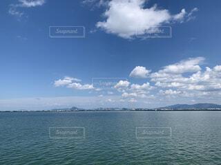 大きな水域の写真・画像素材[4866516]