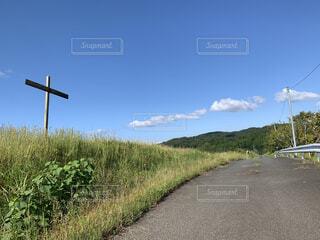 道路の側の標識の写真・画像素材[4866862]