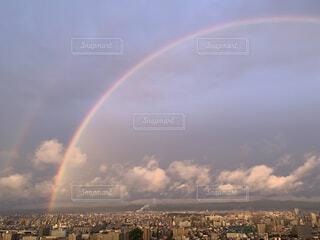 空の虹の写真・画像素材[4873505]
