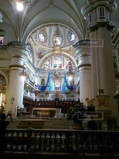 メキシコの教会の写真・画像素材[4868618]