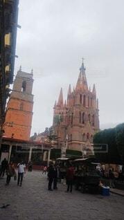 メキシコ風景の写真・画像素材[4871210]