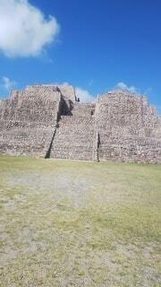 メキシコのピラミッドの写真・画像素材[4871212]