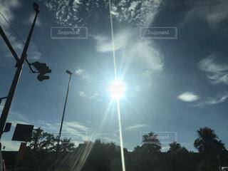空の雲の群の写真・画像素材[4867696]
