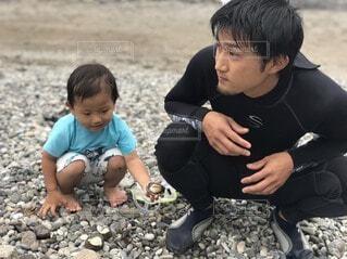父と息子の写真・画像素材[4868543]