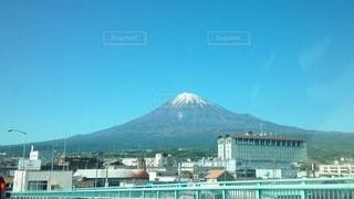 いつもの富士山の写真・画像素材[4895277]