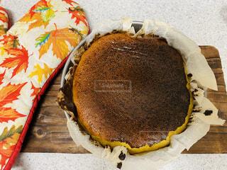 バスクチーズケーキの写真・画像素材[4895319]