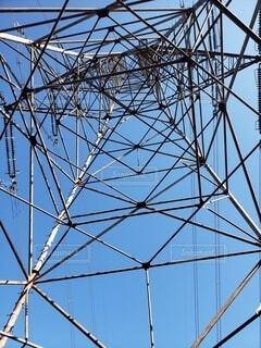 鉄塔を下から見上げてみたの写真・画像素材[4875446]