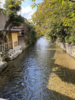 京都の河原の写真・画像素材[4870563]