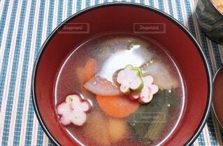 お雑煮の写真・画像素材[4870079]