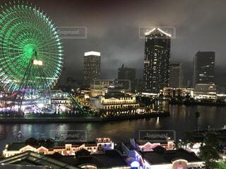 嵐の横浜の写真・画像素材[4875260]