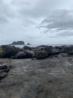 岩場の写真・画像素材[4875215]