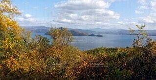 湖の写真・画像素材[4875438]