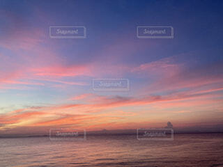 海 夕日の写真・画像素材[4875436]