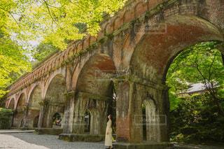 南禅寺の水路閣の写真・画像素材[4875586]