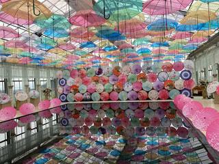 綺麗傘がの写真・画像素材[4873468]