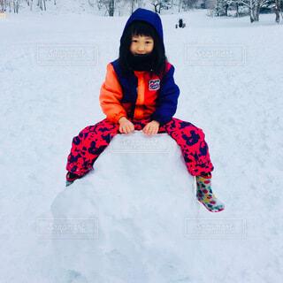 雪遊びの写真・画像素材[4900448]