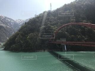 富山のダムの写真・画像素材[4880207]