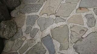 ハートの石の写真・画像素材[4872156]