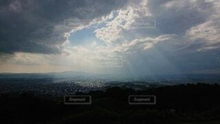空の雲の写真・画像素材[4872455]