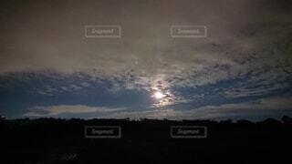 空の雲の写真・画像素材[4872483]