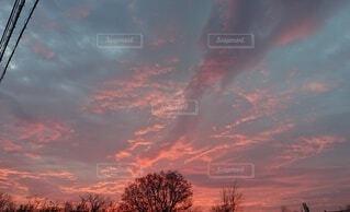 空の雲の群の写真・画像素材[4873745]