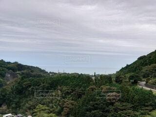 丘の中腹の近くの写真・画像素材[4873557]