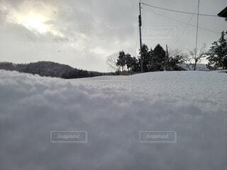 雪原の写真・画像素材[4872608]
