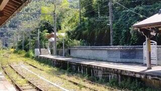 駅のホームの写真・画像素材[4902953]