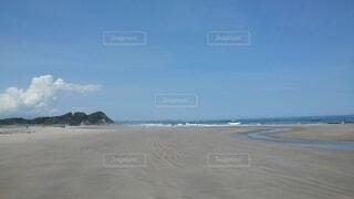 砂浜の写真・画像素材[4872792]