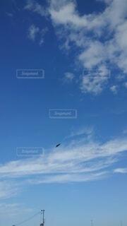 空の雲の群の写真・画像素材[4918646]