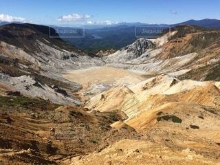 百名山 安達太良山の景色の写真・画像素材[4873516]