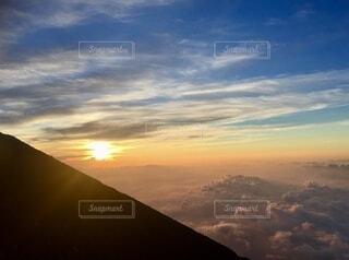 富士山ご来光の写真・画像素材[4873732]