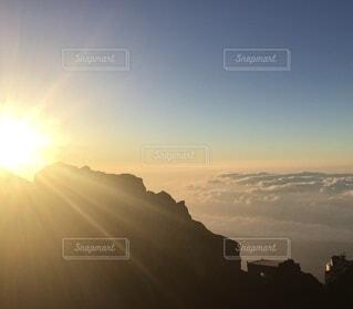 富士山ご来光の写真・画像素材[4873736]