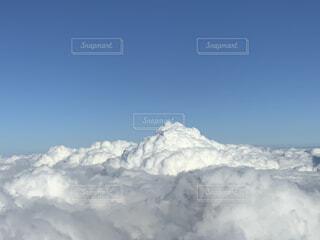 富士山の雲海の写真・画像素材[4873730]