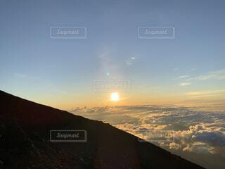 富士山ご来光の写真・画像素材[4873731]