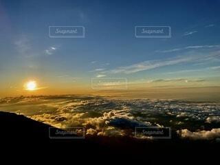 雲海の空の写真・画像素材[4875733]