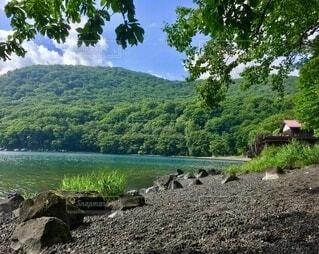 湖の写真・画像素材[4875741]