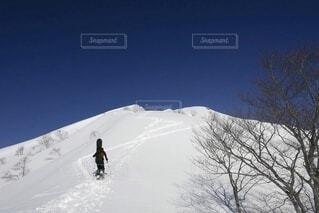 雪山山頂の写真・画像素材[4875758]