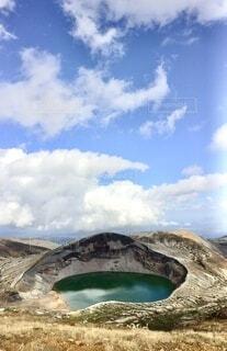 百名山 蔵王山の写真・画像素材[4899195]