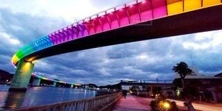 橋のクローズアップの写真・画像素材[4873388]