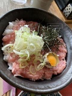 ネギトロ丼の写真・画像素材[4873887]