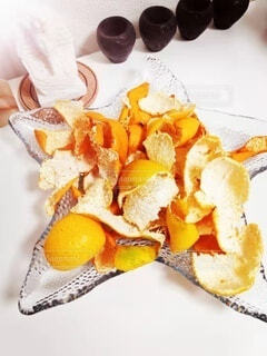 食べ物の皿の写真・画像素材[4938844]