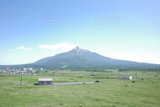 最北にそびえる霊峰の写真・画像素材[4882715]