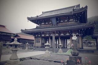 景福宮の前に立っている人の写真・画像素材[4924622]