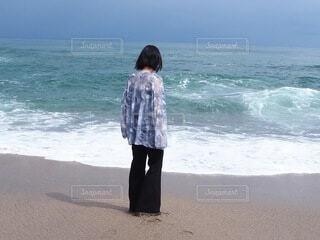 海よりも透き通る彼女の写真・画像素材[4874544]