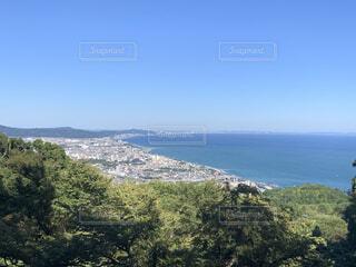 高台からみた景色の写真・画像素材[4874668]
