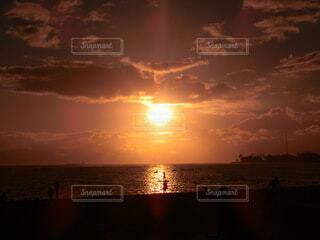 ハワイの美しい夕日の写真・画像素材[4875279]