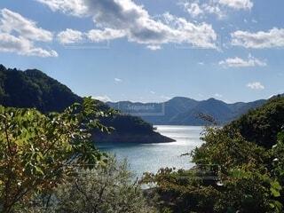 秋田の湖の写真・画像素材[4888504]