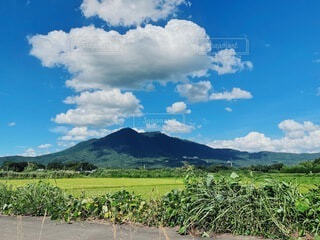 つぶやく筑波山の写真・画像素材[4877543]