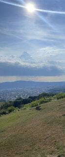 山の眺めの写真・画像素材[4876529]